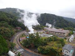 思いっきりドライブを楽しみ、16時半頃、本日の宿・霧島国際ホテルに到着。