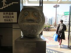 高崎駅に世界遺産「富岡製糸場」関連の物が置かれています。 古墳など遺跡が多いこけ高崎市にはまた来てみたいですね。