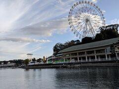 浜名湖パルパルの観覧車も見えてきました。