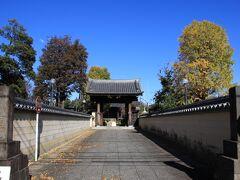 東横線踏切近くに立源寺