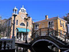 水の都ベネチアの町並みを再現したラ ヴィータ。ラ・ヴィータとはイタリア語で「生命」「人生」。