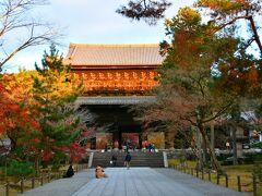 南禅寺  そんな立派な界隈を歩きながら南禅寺に到着です。