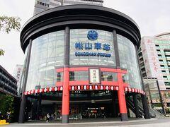 遶境出発点である松山慈祐宮は台湾鉄道松山駅から徒歩数分。