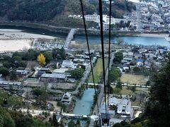 錦川と吉香公園が低くなる。