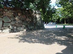 広島城 中御門跡
