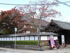 丹波篠山市立歴史美術館 斜め前の、和食屋さんが目に留まりました。