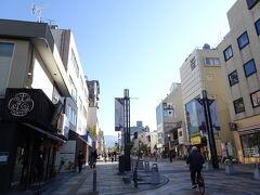 三条通という大きな通りをひたすら真っ直ぐ。 分かりやすくていい。