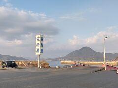 佐島港に戻り
