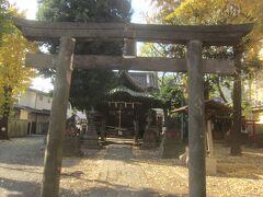 続いて諏方神社