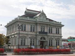 三上ビルの近くには青森銀行記念館。 明治時代に建てられたルネッサンス様式の建物で旧国立第五十九銀行本店本館として国重要文化財の指定を受けている。 入館料が200円だったので時間があれば見学したかったけど…ちょっと時間が足りなかったな…。