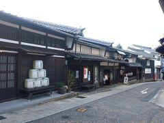 中津川駅で一時間くらい乗り継ぎ時間があったので、中山道旧宿場町に繰り出してみた。駅から歩ける距離で、なかなかいい感じの街並みです。はざま酒造という酒蔵です。特に中に入ったわけではないです。去年も同ルートで中津川で一時間くらい時間あったのですが、雨降りのため待合室でじっとしていました。