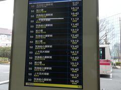 おなかいっぱいとなったところで、特に市場の見どころは無いので、バスで福岡天神へと戻り、そこから西鉄電車に乗って、西鉄久留米へと向かう。 ちょうど特急を捕まえられて、約30分ほど。