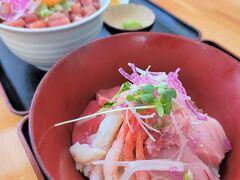 ・マグロユッケ丼 800円 ・海鮮みんな丼 1,200円