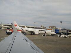 JALの午後便で出発です!