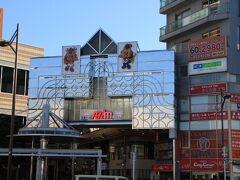 武蔵小山駅前から中原街道まで続くアーケードを進みます。