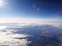 比叡山上空に差し掛かると大阪湾と淡路島が現れます。 まだ明石海峡大橋はみえませんね もう少し西に進んでもらいましょう。