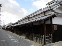 奥谷家住宅という古い建物です。  江戸時代半ばから、材木商を営まれていた商家です。