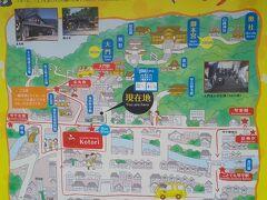 金刀比羅付近のマップ