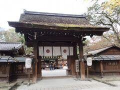 河合神社にもお参り。