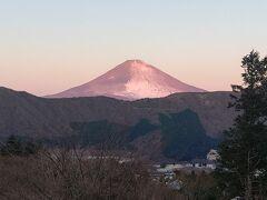 6:50の富士山