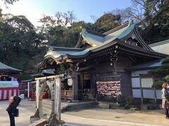辺津宮の本殿。