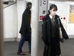 「生駒駅」にて乗り換え。