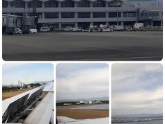 AM11時。宮崎空港に無事ランディング。  わずか1時間弱のフライト。案外近いんですね。。。
