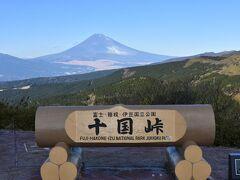 好天に恵まれ富士山がきれいに見えました、風もなく・・・