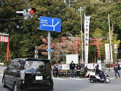 食後は運動のため来宮神社へお参り、道の勾配が足腰にきました。