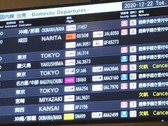 買いたいものはすべて買えました。いや、行きに機内販売で買おうと思っていたロクシタンは買えなかった・・・でも、小倉でプチJALショップのはがきを出したから、そのうち家に配達されるでしょう。  13:00発成田行きいや、今回はJALパックだったから羽田行きです。以前海外の空港でチェックイン手続きする際、「TOKYO」と言うと、やはり成田行きと羽田行きがあり、その場で選べるなら、成田を選びたいと思ったことを、ふと思い出しました。今回も同様でした。いやいや今回は仮称嵐さんにお会いするので、絶対羽田です!