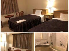 今日の宿は備中高梁駅近くの高梁国際ホテル。翌朝、備中松山城の展望台へ行くのでアクセスのよいホテルにしました。宿泊代・朝付2名16,200円。クーポン5,670円。 支払額10,530円でした。なかなかリーズナブル。