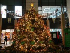博多大丸エルガーラ・パサージュ広場に展示されていた大きなツリー