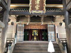 吉備津神社は知りませんでしたが、桃太郎伝説で有名な神社だそうです。