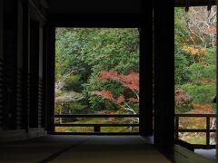 名残り惜しいですが、最後に大方丈ごしの庭園を撮って天龍寺をあとにします。
