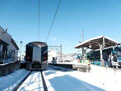 浅草から約3時間半、福島県は南会津の会津田島に到着。  乗り通すとやっぱ楽しい♪   会津鉄道の鉄印はここで貰えますが、後回しにし更に北上します。