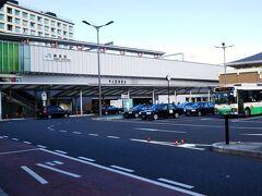 バスに乗り、「JR奈良駅」へ☆ 近鉄奈良駅とはちょっと離れています。