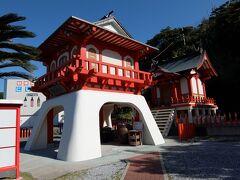 そしてこちらが龍宮神社。乙姫様を奉っており縁結びの神様だそうです。