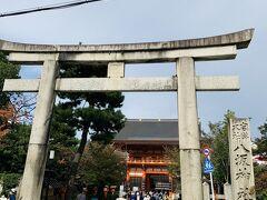 南楼門と石鳥居、こちらから入って行きましたが、ここが正門だそうです