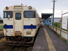 南郷駅から約1時間で終点、志布志駅に到着。