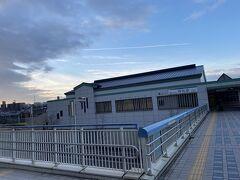朝7時のいつもの名鉄の郊外の駅から久々に鉄道旅スターティング!!