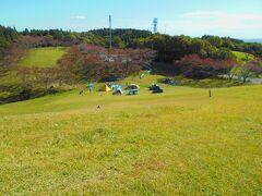 加護坊山キャンプ場です。 オートキャンプのお客さんがいました。