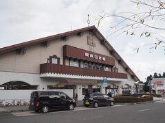 (東武)下今市 12:26 ⇒ 東武日光 12:35   東武日光駅に着いたら、ちょっとだけ、雪がチラついてたー。
