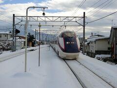 大石田12:00→羽前千歳→山寺13:15  このあたりから電車の遅延が少しずつ大きくなっていくのを感じました。 雪国あるある。