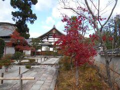 天龍寺境内の紅葉が美しく紅葉していました。