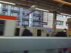 名古屋に着きつつあります。