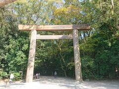 最初の目的地熱田神宮へ 律儀に南側の参道まで回りました