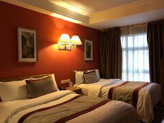 1泊目 カサブランカ市内の Hotel Les Saison 長時間のフライトの疲れを取る。