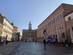 ポポロ広場はラヴェンナの中心