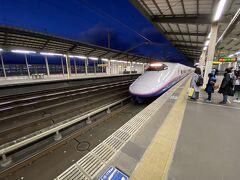 那須塩原駅17時02分発のやまびこ216号にて帰りました。
