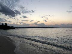 夕暮れのムーンビーチ